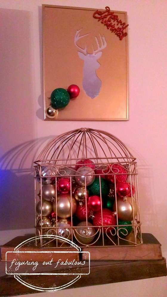 ball cage and reindeer head