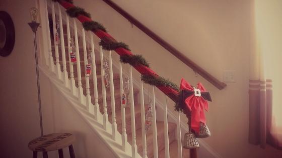 xmas stairs