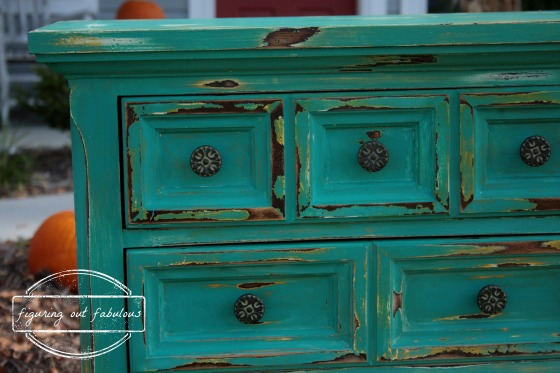 teal drawer close up with WM