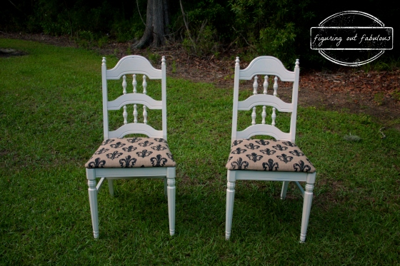 white fdl chairs