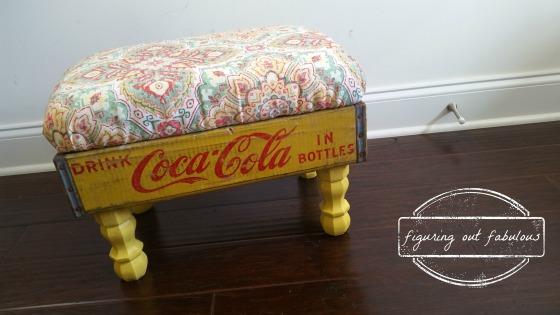 soda crate ottoman